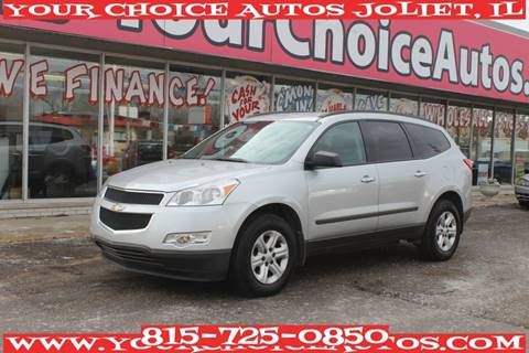 2012 Chevrolet Traverse for sale at Your Choice Autos - Joliet in Joliet IL