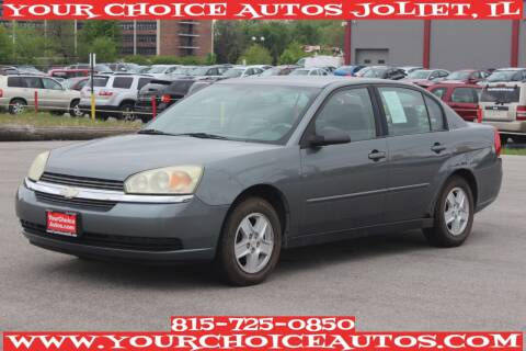 2004 Chevrolet Malibu for sale at Your Choice Autos - Joliet in Joliet IL