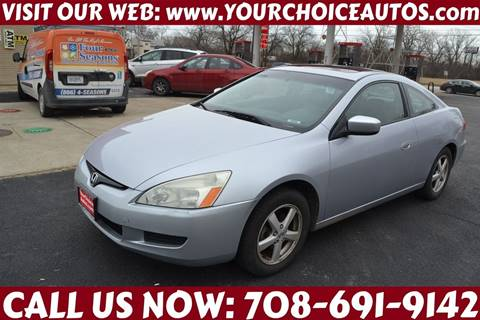2004 Honda Accord for sale at Your Choice Autos - Crestwood in Crestwood IL