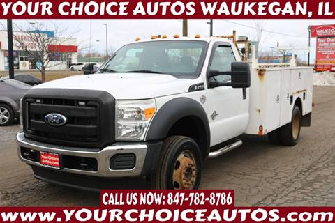 2012 Ford F-550 Super Duty for sale at Your Choice Autos - Waukegan in Waukegan IL
