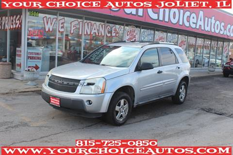 2005 Chevrolet Equinox for sale at Your Choice Autos - Joliet in Joliet IL