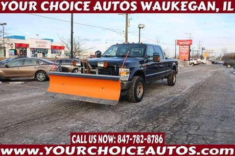 2009 Ford F-250 Super Duty for sale at Your Choice Autos - Waukegan in Waukegan IL