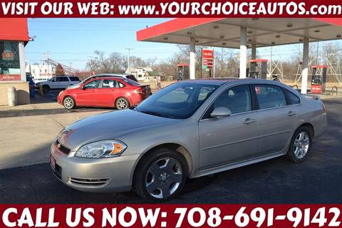 2012 Chevrolet Impala for sale at Your Choice Autos - Crestwood in Crestwood IL