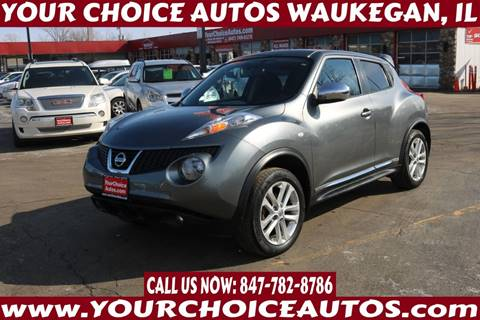 2011 Nissan JUKE SL for sale at Your Choice Autos - Waukegan in Waukegan IL
