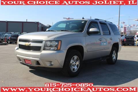 2008 Chevrolet Tahoe LT for sale at Your Choice Autos - Joliet in Joliet IL