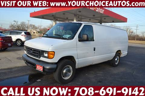 2006 Ford E-Series Cargo E-250 for sale at Your Choice Autos - Crestwood in Crestwood IL