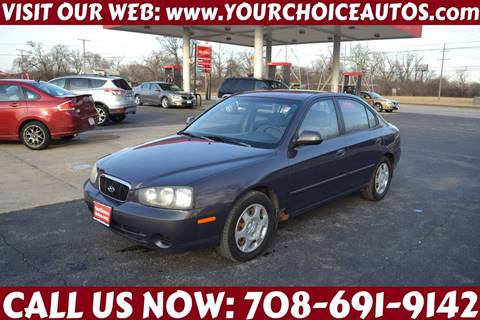 2002 Hyundai Elantra GLS for sale at Your Choice Autos - Crestwood in Crestwood IL