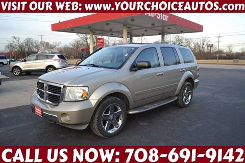 2008 Dodge Durango Limited for sale at Your Choice Autos - Crestwood in Crestwood IL