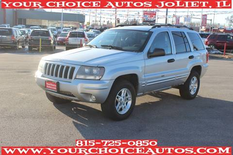 2004 Jeep Grand Cherokee for sale at Your Choice Autos - Joliet in Joliet IL