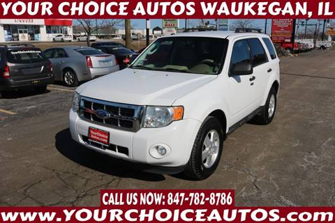 2012 Ford Escape XLT for sale at Your Choice Autos - Waukegan in Waukegan IL