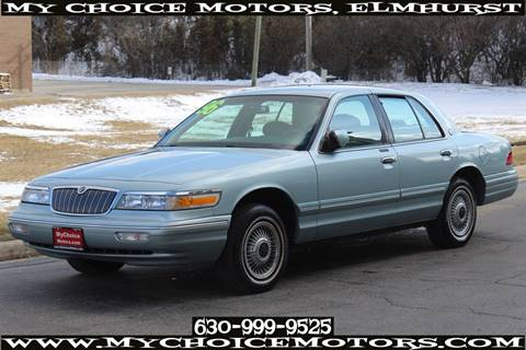 1996 Mercury Grand Marquis GS for sale at Your Choice Autos - My Choice Motors in Elmhurst IL