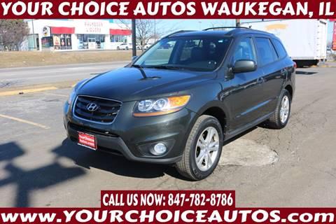 2011 Hyundai Santa Fe SE for sale at Your Choice Autos - Waukegan in Waukegan IL