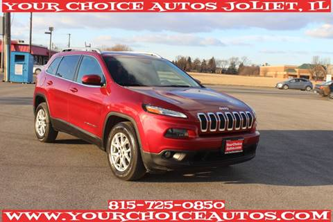 2015 Jeep Cherokee Latitude for sale at Your Choice Autos - Joliet in Joliet IL