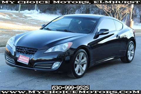 2010 Hyundai Genesis Coupe 3.8L Grand Touring for sale at Your Choice Autos - My Choice Motors in Elmhurst IL
