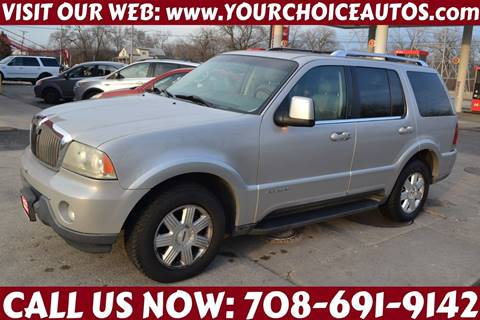 2003 Lincoln Aviator for sale at Your Choice Autos - Crestwood in Crestwood IL
