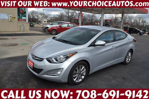 2015 Hyundai Elantra for sale at Your Choice Autos - Crestwood in Crestwood IL