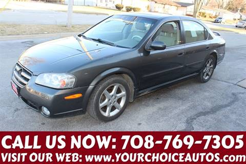 2003 Nissan Maxima for sale at Your Choice Autos in Posen IL