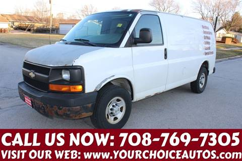 2007 Chevrolet Express Cargo for sale at Your Choice Autos in Posen IL