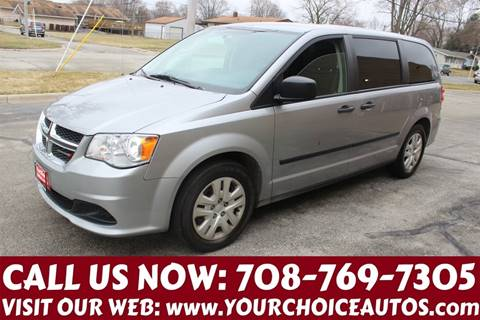 2016 Dodge Grand Caravan for sale at Your Choice Autos in Posen IL
