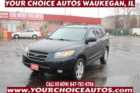 2007 Hyundai Santa Fe for sale at Your Choice Autos - Waukegan in Waukegan IL