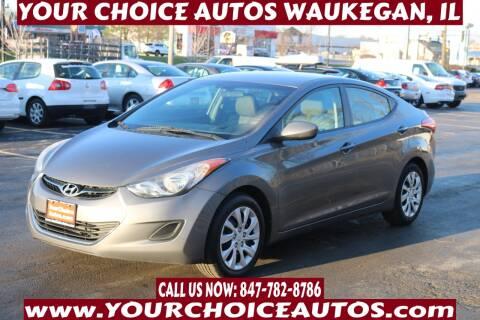 2013 Hyundai Elantra for sale at Your Choice Autos - Waukegan in Waukegan IL