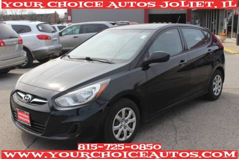 2012 Hyundai Accent for sale at Your Choice Autos - Joliet in Joliet IL