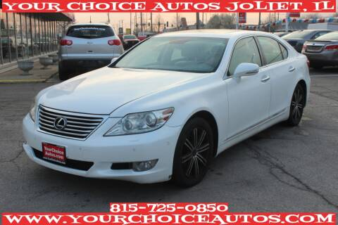 2011 Lexus LS 460 for sale at Your Choice Autos - Joliet in Joliet IL