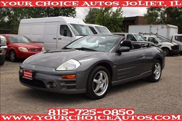 2003 Mitsubishi Eclipse Spyder for sale in Joliet, IL