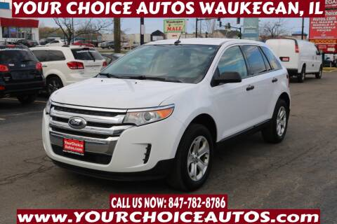 2014 Ford Edge for sale at Your Choice Autos - Waukegan in Waukegan IL