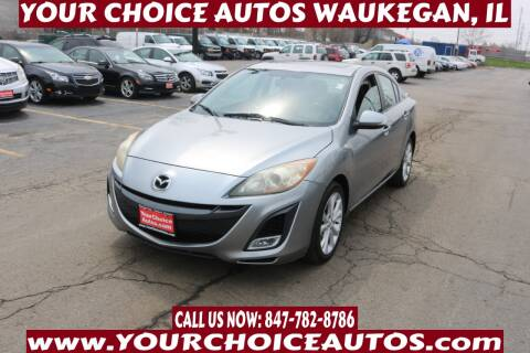 2010 Mazda MAZDA3 for sale at Your Choice Autos - Waukegan in Waukegan IL