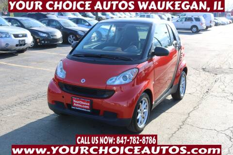 2008 Smart fortwo for sale at Your Choice Autos - Waukegan in Waukegan IL