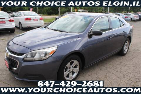 2014 Chevrolet Malibu for sale at Your Choice Autos - Elgin in Elgin IL