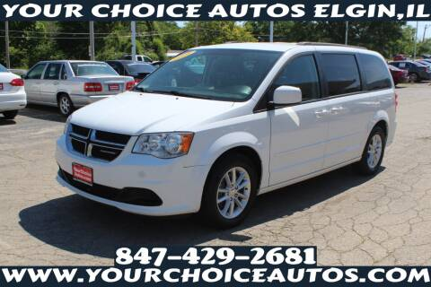 2016 Dodge Grand Caravan for sale at Your Choice Autos - Elgin in Elgin IL