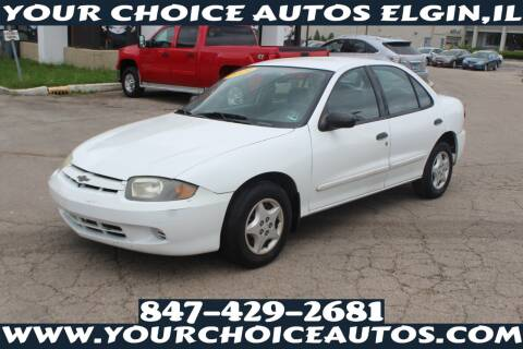 2004 Chevrolet Cavalier for sale at Your Choice Autos - Elgin in Elgin IL