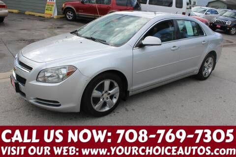 2011 Chevrolet Malibu for sale at Your Choice Autos in Posen IL