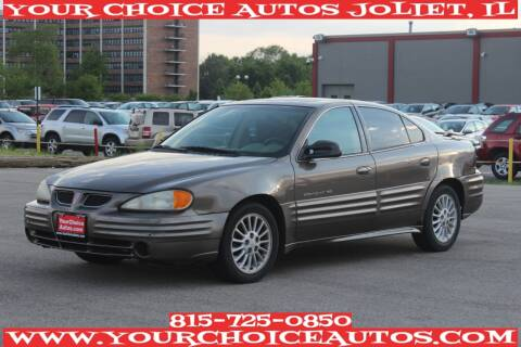 2001 Pontiac Grand Am for sale at Your Choice Autos - Joliet in Joliet IL