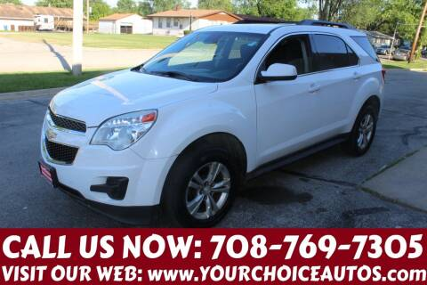 2013 Chevrolet Equinox for sale at Your Choice Autos in Posen IL