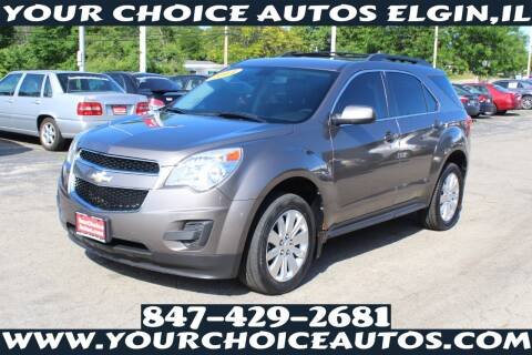 2011 Chevrolet Equinox for sale at Your Choice Autos - Elgin in Elgin IL