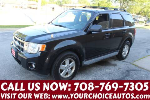 2010 Ford Escape for sale at Your Choice Autos in Posen IL