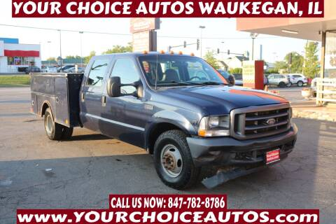 2003 Ford F-350 Super Duty for sale at Your Choice Autos - Waukegan in Waukegan IL