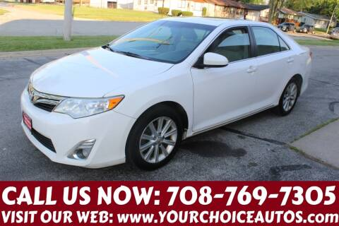 2012 Toyota Camry for sale at Your Choice Autos in Posen IL