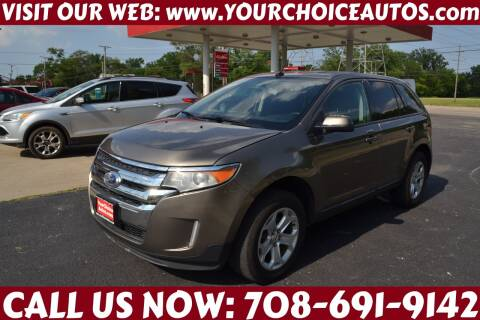 2013 Ford Edge for sale at Your Choice Autos - Crestwood in Crestwood IL