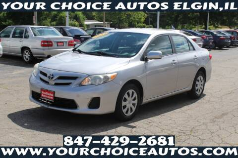 2011 Toyota Corolla for sale at Your Choice Autos - Elgin in Elgin IL