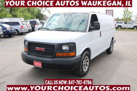 2011 GMC Savana Cargo for sale at Your Choice Autos - Waukegan in Waukegan IL