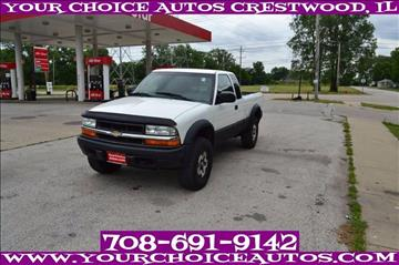 2000 Chevrolet S-10 for sale in Crestwood, IL