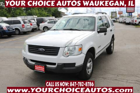 2006 Ford Explorer for sale at Your Choice Autos - Waukegan in Waukegan IL