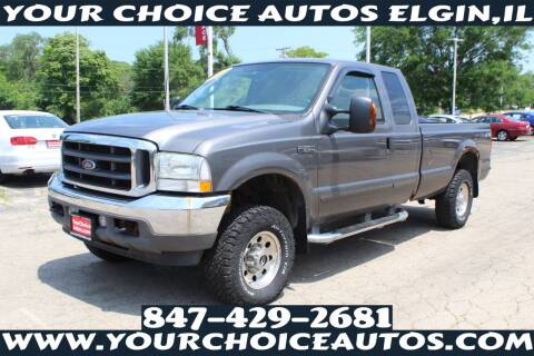 2003 Ford F-250 Super Duty for sale at Your Choice Autos - Elgin in Elgin IL