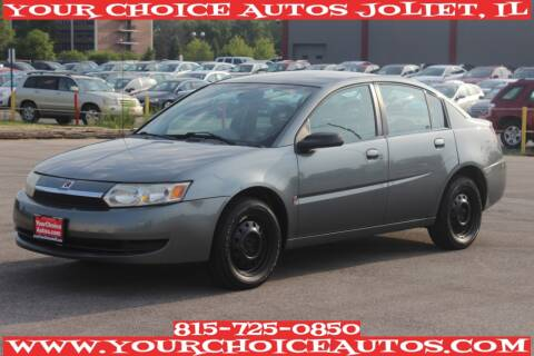 2004 Saturn Ion for sale at Your Choice Autos - Joliet in Joliet IL