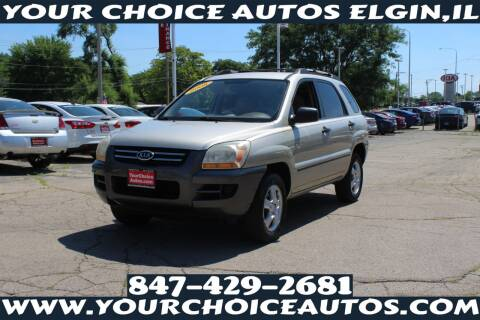 2008 Kia Sportage for sale at Your Choice Autos - Elgin in Elgin IL