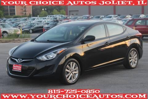 2015 Hyundai Elantra for sale at Your Choice Autos - Joliet in Joliet IL